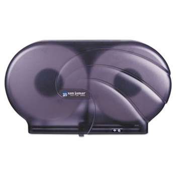 "THE COLMAN GROUP, INC Twin 9"" JBT Toilet Tissue Dispenser, Oceans, 19 x 5 1/4 x 12, Black Pearl"
