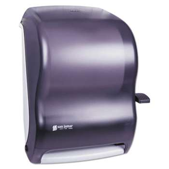 THE COLMAN GROUP, INC Lever Roll Towel Dispenser, Classic, Black Pearl, 12 15/16 x 9 1/4 x 16 1/2