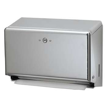 THE COLMAN GROUP, INC Mini C-Fold/Multifold Towel Dispenser, Chrome, 11 1/8 x 3 7/8 x 7 7/8