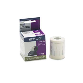 Seiko SLP35L Self-Adhesive Small Multipurpose Labels, 7/16 x 1-1/2, White, 300/Box