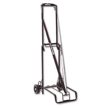 THE BUGATTI GROUP INC Luggage Cart, 125lb Capacity, 13 x 10 Platform, Black Steel