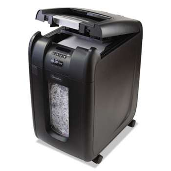 Swingline 1703092 Stack-and-Shred 300XL Auto Feed Heavy Duty Shredder Plus Pack, Super Cross-Cut