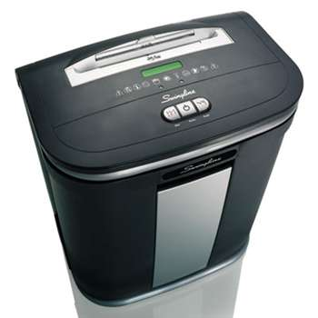 ACCO BRANDS, INC. SX16-08 Cross-Cut Jam Free Shredder, 16 Sheets, 1-5 Users