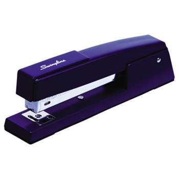 ACCO BRANDS, INC. 747 Classic Full Strip Stapler, 20-Sheet Capacity, Royal Blue