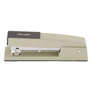 ACCO BRANDS, INC. 747 Classic Full Strip Stapler, 20-Sheet Capacity, Steel Gray