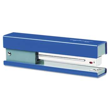ACCO BRANDS, INC. Full Strip Fashion Stapler, 20-Sheet Capacity, Navy/Gray