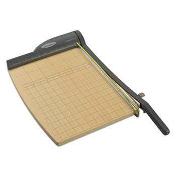 ACCO BRANDS, INC. ClassicCut Pro Paper Trimmer, 15 Sheets, Metal/Wood Composite Base, 12 x 15