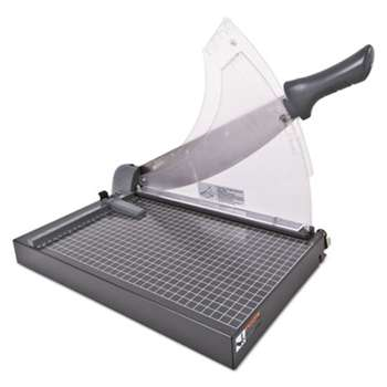 ACCO BRANDS, INC. Heavy-Duty Low Force Guillotine Trimmer, 40 Sheets, Metal Base, 10 1/2 x 17 1/2