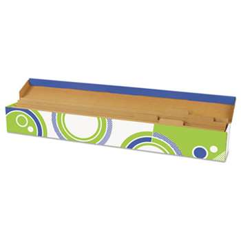 TREND ENTERPRISES, INC. File 'n Save System Trimmer Storage Box, 39-1/2 x 5 x 5, Bright Stars Design