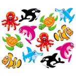 TREND ENTERPRISES, INC. Classic Accents Variety Pack, Sea Buddies, 6 x 7.88