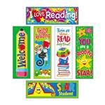 TREND ENTERPRISES, INC. Bookmark Combo Packs, Reading Fun Variety Pack #2, 2w x 6h, 216/Pack