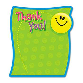 TREND ENTERPRISES, INC. Thank You Note Pad, 5 x 5, 50 Sheets