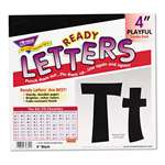 "TREND ENTERPRISES, INC. Ready Letters Playful Combo Set, Black, 4""h, 216/Set"