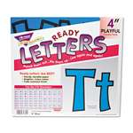 "TREND ENTERPRISES, INC. Ready Letters Playful Combo Set, Blue, 4""h, 216/Set"