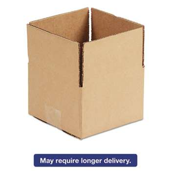 GENERAL SUPPLY Brown Corrugated - Fixed-Depth Shipping Boxes, 12l x 12w x 8h, 25/Bundle