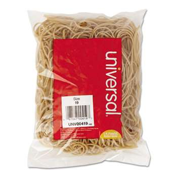 UNIVERSAL OFFICE PRODUCTS Rubber Bands, Size 19, 3-1/2 x 1/16, 310 Bands/1/4lb Pack
