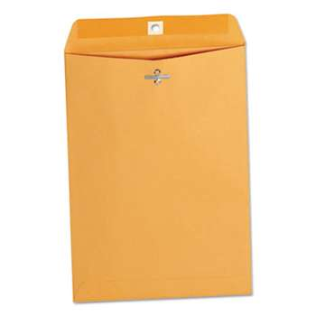 UNIVERSAL OFFICE PRODUCTS Kraft Clasp Envelope, Center Seam, 28lb, 7 1/2 x 10 1/2, Brown Kraft, 100/Box