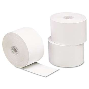 "UNIVERSAL OFFICE PRODUCTS Single-Ply Thermal Paper Rolls, 1 3/4"" x 230 ft, White, 10/Pack"