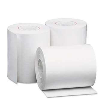 "UNIVERSAL OFFICE PRODUCTS Single-Ply Thermal Paper Rolls, 2 1/4"" x 80 ft, White, 50/Carton"