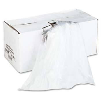 UNIVERSAL OFFICE PRODUCTS High-Density Shredder Bags, 56 gal Capacity, 100/Box