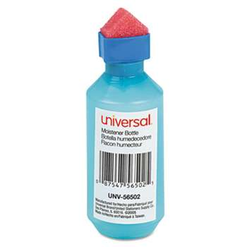 UNIVERSAL OFFICE PRODUCTS Squeeze Bottle Moistener, 2 oz, Blue