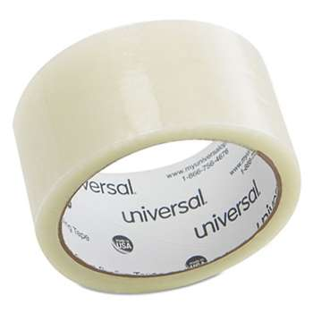 "UNIVERSAL OFFICE PRODUCTS General Purpose Box Sealing Tape, 48mm x 50m, 3"" Core, Clear"