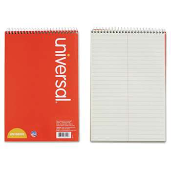 UNIVERSAL OFFICE PRODUCTS Steno Book, Gregg Rule, 6 x 9, Green, 80 Sheets