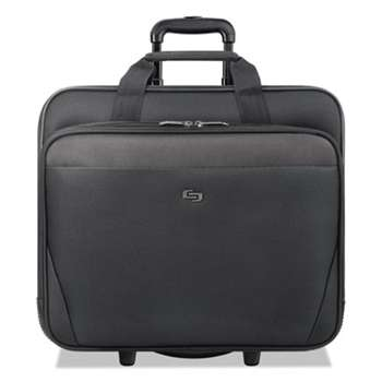 "UNITED STATES LUGGAGE Classic Rolling Case, 17.3"", 16 3/4"" x 7"" x 14 19/50"", Black"