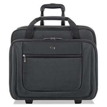 "UNITED STATES LUGGAGE Classic Rolling Case, 17.3"", 17 1/2"" x 9"" x 14"", Black"