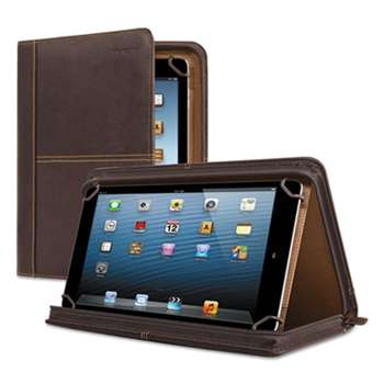 "UNITED STATES LUGGAGE Premiere Leather Universal Tablet Case, Fits Tablets 8.5"" up to 11"", Espresso"