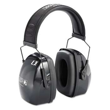 HONEYWELL ENVIRONMENTAL Leightning L3 Noise-Blocking Earmuffs, 30NRR, Black/Gray