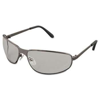 HONEYWELL ENVIRONMENTAL Tomcat Safety Glasses, Gun Metal Frame, Clear Lens