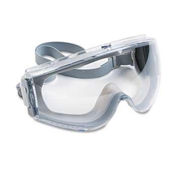 HONEYWELL ENVIRONMENTAL Stealth Antifog, Antiscratch, Antistatic Goggles, Clear Lens, Gray Frame