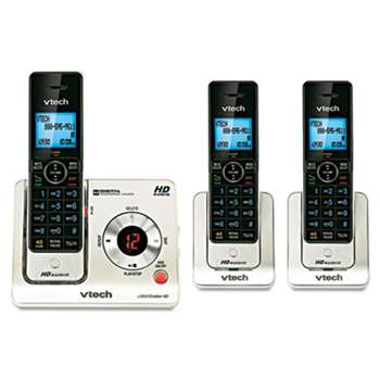 VTECH COMMUNICATIONS LS6425-3 DECT 6.0 Cordless Voice Announce Answering System