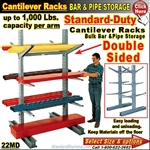 22MU / Single Sided Cantilever Rack Column