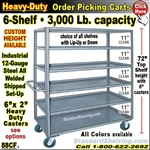 88CF / 6-Shelf Steel Stock Transport Truck