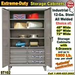 ST102 / Extreme Duty 6-Drawer Storage Cabinet