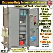 ST111 / Extreme Duty Tool & Janitorial Cabinets