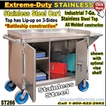 ST266 / Extreme Duty Stainless Steel Cart