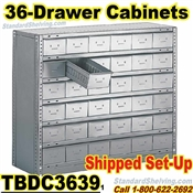 36-Drawer Steel Parts Cabinets / TBDC3639