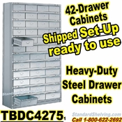 42-Drawer Steel Parts Cabinets / TBDC4275