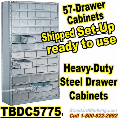 57-Drawer Steel Parts Cabinets / TBDC5775