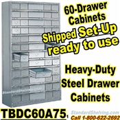 60A-Drawer Steel Parts Cabinets / TBDC60A75