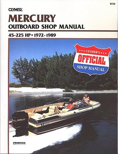 Mercury Outboard Manual Service Shop And Repair Manuals