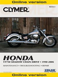 Honda VT750 Shadow Manual