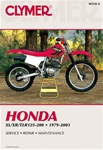Honda XL125, XL185, XL200, XR185, XR200, TLR200 Manual