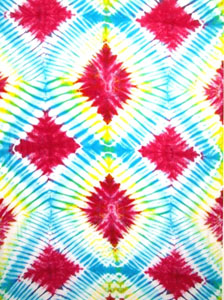 Tie Dye Sarong - Diamonds
