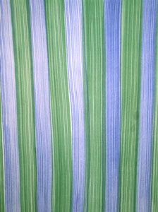 Plus Size Blue & Green Stripes