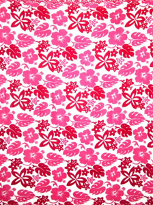 Busy Floral Pattern in Pinks