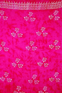 Batik Pink Sarong With Turtles